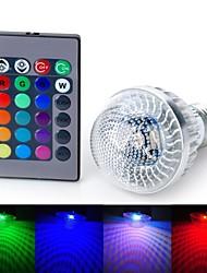 Marsing Lâmpada Redonda E26/E27 5 W 200-300 LM K RGB/Muda de Cor LED Integrado AC 85-265 V