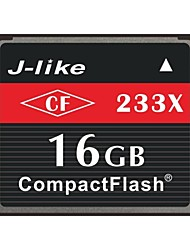 J-Like® CompactFlash Card  16GB Memory Card 233X