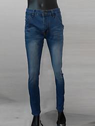 changement de décontractés pour hommes skinny mince et élégant pantalon de jeans