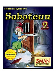 Saboteur 1+2 Card Game