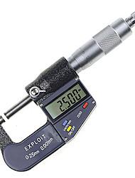 25 ~ 50 mm 0,001 mm micrómetro digital diámetro externo herramienta de medición métrica / pulgada explotar