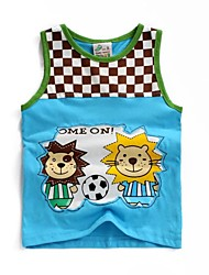 Boy's Cotton Tank & Cami , Summer Short Sleeve