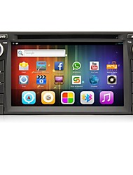 Android 4.4 6.2-inch 2 Din TFT Screen In-Dash Car DVD Player For Toyota with Bluetooth,Navigation-Ready GPS,iPod,RDS