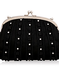 Handbags Elegant Beading Rhinestones Wedding/ Special Occasion Evening Clutches With Chain
