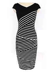Mufans Women's Fitted Dress 0710