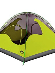 ROCVAN 3 Season A058B 3 Person Double Layer Fiberglass Pole Camping Tent