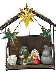Christmas Ornament Christian,Iron And China