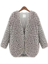 Women's Fashion Winter All Match Wool Coat
