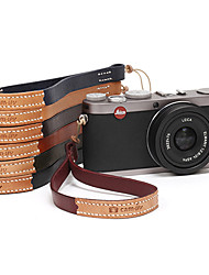 CAM-in Genuine Leather Roundline Universal Wrist Strap for Camera