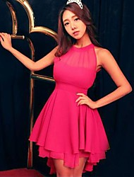 Women's Fashion Bandage Casual Novelty Cute Lace Dress
