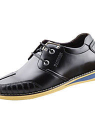 Zapatos de Hombre Casual Cuero Sneakers a la Moda Negro/Marrón/Amarillo