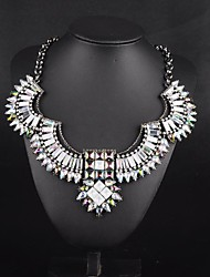MTS Western Style Angel Wing Choker Necklace