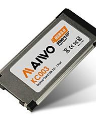 maiwo kc003 Aluminiumlegierung USB 3.0 Express Card für Notebooks