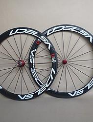 udelsa 25 mm de large roues en carbone graisse de vélo 50mm tubulaire 700c vélo roues r13 hubs f: 20h r: 24h