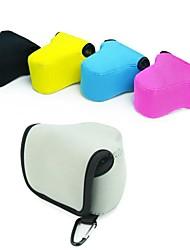 pajiatu® neopreen zachte camera beschermhoes zakje voor canon eos m eosm2 eos mii met 18-55mm lens