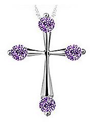 pure vrouwen 925 verzilverde hoogwaardig handwerk elegante hanger omvatten ketting