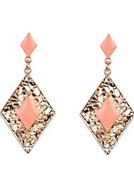 Earring Drop Earrings Jewelry Women Wedding / Party / Daily / Casual / Sports Alloy / Enamel