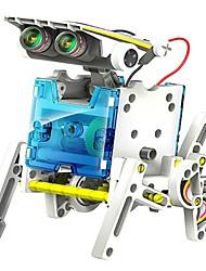 neje diy 14 in 1 solare modello di robot building block assemblaggio alimentato