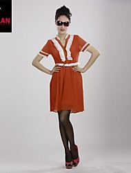 yimilan® vrouwen speciale aanbieding mooie meisje temperament verpletterende kanten jurk riem