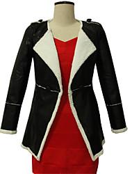 tout manteau de cuir thermique match