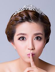 Mulheres Strass / Liga Capacete-Casamento / Ocasião Especial Tiaras