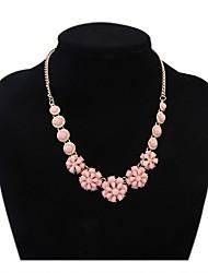 mignon fleurs de perles pôle dossard collier déclaration des femmes
