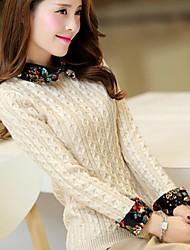 boneca da moda pullover trouxe feminina blusas finas (mais cores)