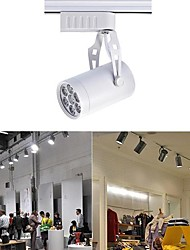 7 W 7 High Power LED 0 LM Warm White / Natural White / Cool White Rotatable Track Lights AC 85-265 V