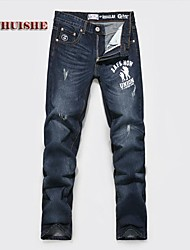 Men's Jeans , Casual Print/Pure Denim