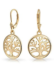 Family Tree Dangle Earrings for Women(More Colors)