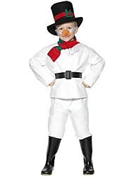 bonhomme de neige fraîches enfants costume noël