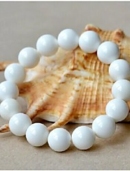 Love Is Your Natural Crystal White Tridacna Strand Bracelets