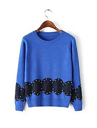 ICED™ Women's Round Collar Pullover Beads Sweaters(More Color)