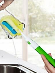 mais lidar com esponja copo escova de descontaminação - usar dois cabeça da escova pode ser substituído