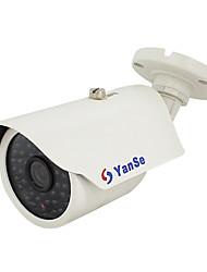 yanse® 1000tvl 48-geführte Outdoor / Indoor CCTV-System IR-wasserdichte Kamera - weiß ys-873cf