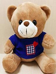 unisexes l'nouveaux amants d'ours en peluche d'enregistrement