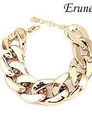 eruner® large chunky or chaîne bracelet des femmes
