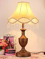 настольный свет с элегантной золотой ткани оттенок канделябр Тип кузова 220-240V