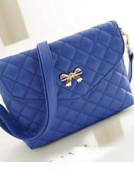 Xiuyi Women's Lozenge Print Messenger Bag