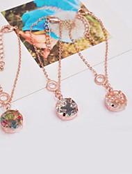 Women's Chain/Fashion/Personalized Bracelet Alloy Cubic Zirconia