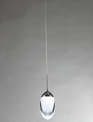 1 Light Simple Modern LED Pendant Light