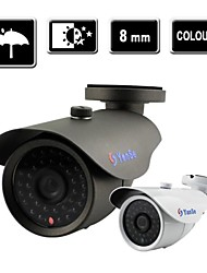 YanSe® 1000TVL 8mm CCTV Surveillance 36 IR Bullet Night Vision Outdoor Camera F278CF8MM