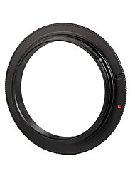 POPLAR 52mm Macro Reverse Adapter Ring for Canon EOS (Black)