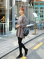 Women's Round Collar Fashion Loose Knitwear Pullover