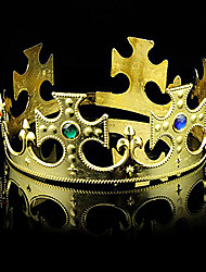 Noble King Crown PVC Kids' Halloween Party Accessories