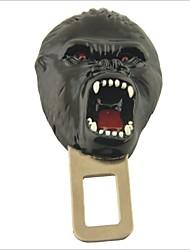 segurança legal língua estilo chimpanzé vermelho cinto de segurança travas fivela