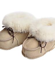 Baby Shoes - Formale / Serata e festa - Stivali - Lana - Nero / Blu / Marrone / Grigio / Beige