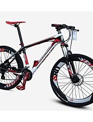 nouvelle 27 vitesses frein de l'huile VTT en fibre de carbone de vélos 50mm lock-out vtt