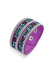 main bracelet de velours enveloppement bling strass bracelet en cuir forage chaude bracelet
