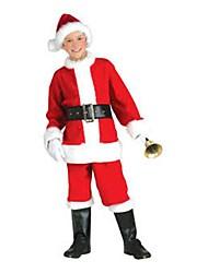 Jingle Bell petits enfants costume de Père Noël de costume de Noël
